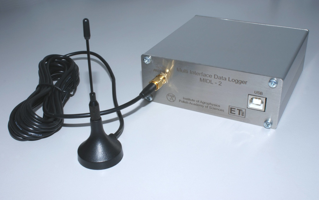 MIDL-2 - Multi Interface Data Logger - dedicated GPRS modem for TDR/MUX/mpts device