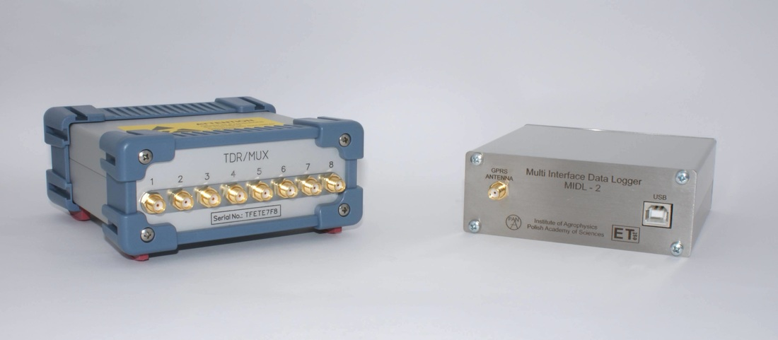 D-LOG - data acquisition, storage and transfer system for TDR/MUX/mpts TDR meter